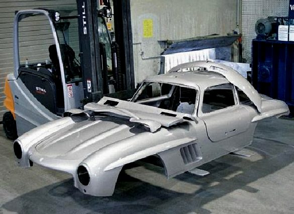 Mercedes Benz 300 Sl Gull Wing Doors Coupe Restoration