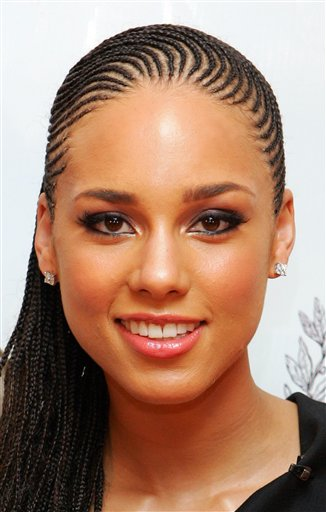 Alicia keys haircut 2018