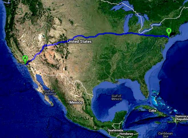 United States - Los Angeles to New York EV Endurance Challenge