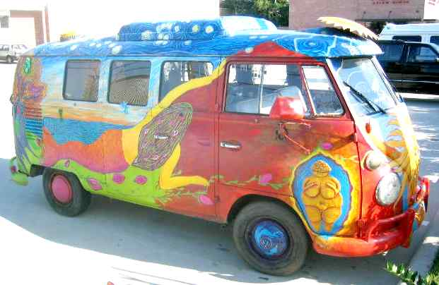 VW art, a symbol of peace and friendship the world over