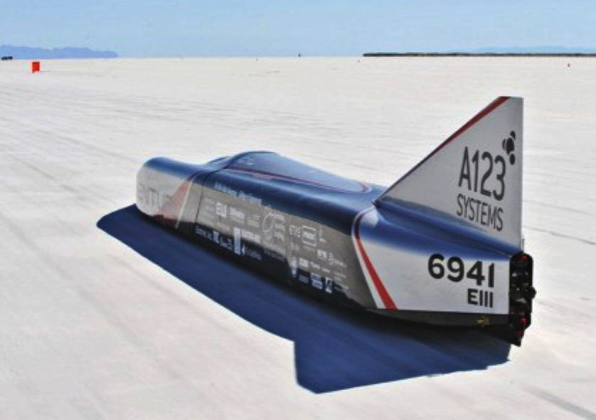 Venturi Buckeye Bullet, Jamais Contente, electric land speed record car