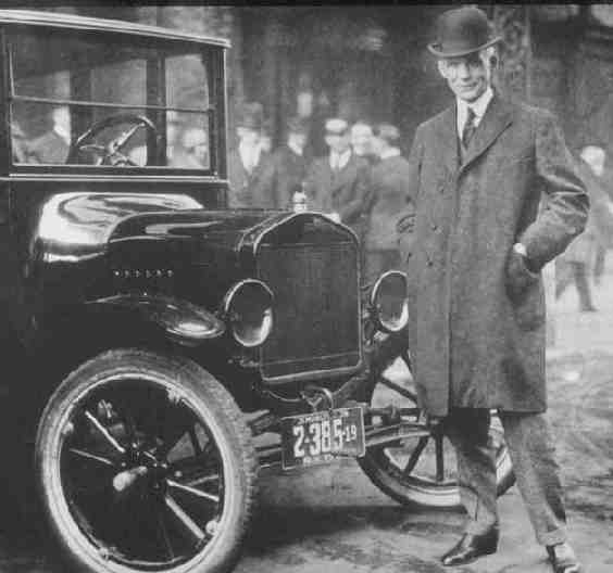Henry and Model T Ford