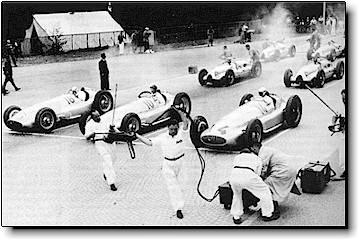 Mercedes front row at Swiss Grand Prix - 1939