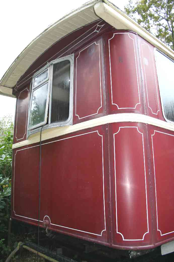 Gypsy caravan traditional front end